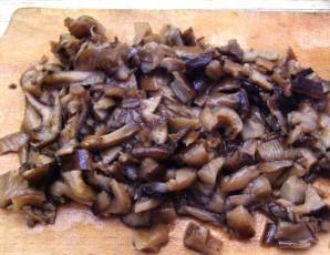 Салат с грудинкой и грибами - фото шаг 4