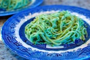"""Спагетти с """"Песто"""" из авокадо - фото шаг 4"""