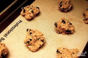 Овсяное печенье с грецкими орехами - фото шаг 5