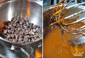 Шоколадный торт с заварным кремом - фото шаг 11