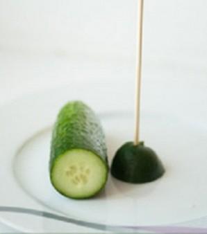 Елочка из овощей - фото шаг 2