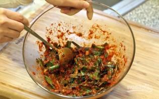 Кимчи с огурцом - фото шаг 4