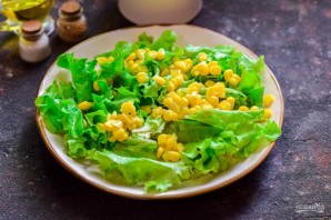 Испанский салат с тунцом - фото шаг 3