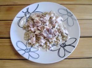 Салат к макаронам - фото шаг 6
