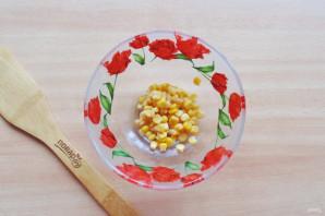 Салат с яйцом и ветчиной - фото шаг 2