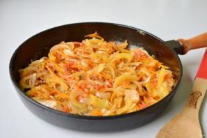 Щи со свежей капустой и фасолью - фото шаг 5
