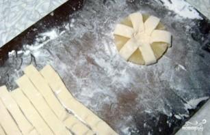 Пирожное из слоеного теста - фото шаг 4