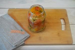 Острый салат из сладкого перца на зиму - фото шаг 5