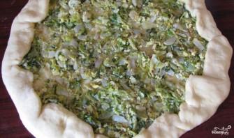 Дрожжевой пирог с капустой - фото шаг 15