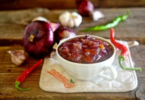 Варенье из лука и перца чили - фото шаг 6