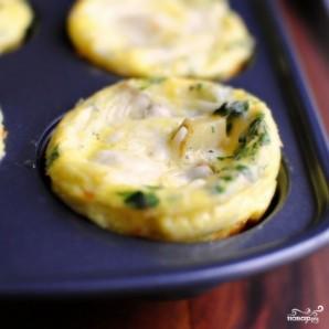 Суфле с картофелем и колбасками - фото шаг 10