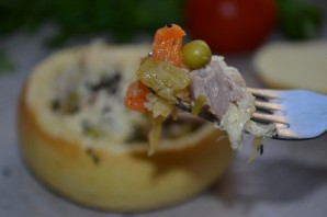 Съедобная тарелка с рагу  - фото шаг 26