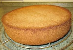 Ванильный бисквит для торта - фото шаг 4