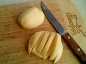Картофель с грибами на сковороде - фото шаг 5