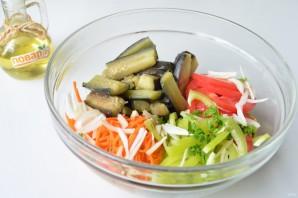 Салат с баклажанами и морковью по-корейски - фото шаг 4