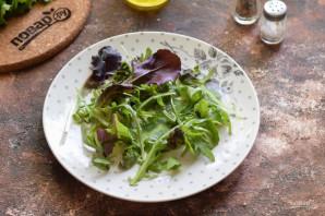 Салат с лососем и яйцом пашот - фото шаг 4