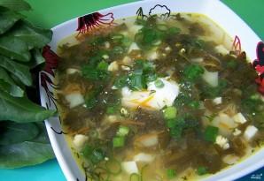 Суп со щавелем и курицей - фото шаг 8
