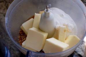 Орехово-песочное печенье - фото шаг 2