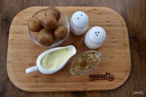 Пряный картофельный салат с курицей - фото шаг 3