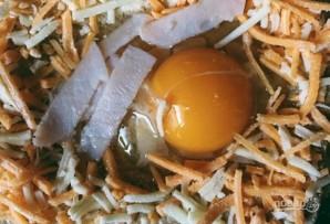 Яичница в тосте - фото шаг 3