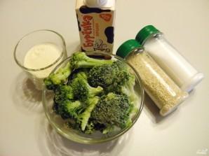 Диетический суп-пюре из брокколи - фото шаг 1