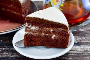 """Торт """"Шоколад на кипятке"""" в мультиварке - фото шаг 12"""