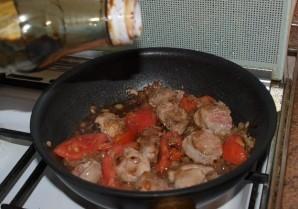 Телятина, жареная на сковороде - фото шаг 5