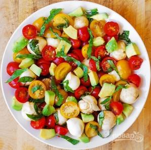 Салат с авокадо и сыром - фото шаг 3