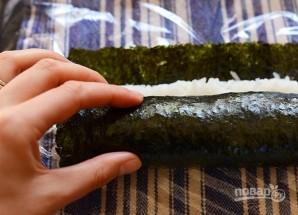 Суши вегетарианские - фото шаг 4