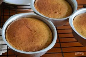 Простой рецепт коржа для торта - фото шаг 10