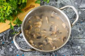 Грибной суп по Дюкану - фото шаг 4