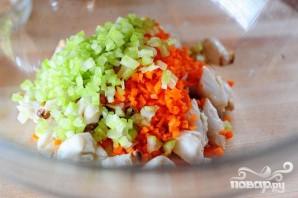 Гаспачо с крабовым салатом - фото шаг 4