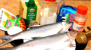 Рыба, запеченная в тесте - фото шаг 1