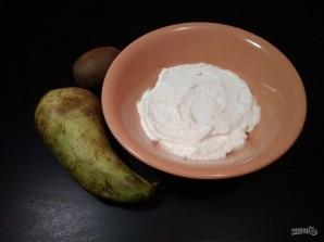 Десерт из творога и фруктов - фото шаг 3