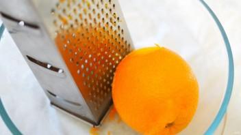 Постный пирог с апельсинами - фото шаг 2