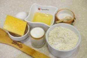 Лепешки сырные на сковороде - фото шаг 1