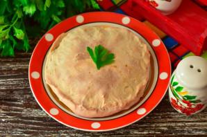 Дрожжевой пирог с красной рыбой - фото шаг 10