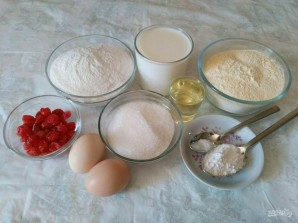 Рисово-кукурузный пирог - фото шаг 1