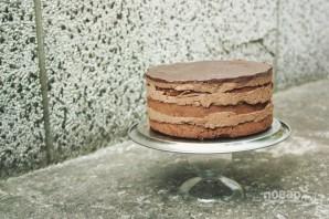 "Торт ""Прага"" с заварным кремом - фото шаг 12"