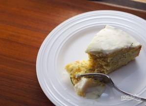 Лимонный пирог с глазурью  - фото шаг 12