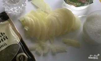 Салат из свиной печени - фото шаг 2