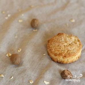 Овсяные лепешки с мускатным орехом - фото шаг 3