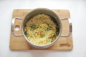 Пшенная каша с овощами - фото шаг 6