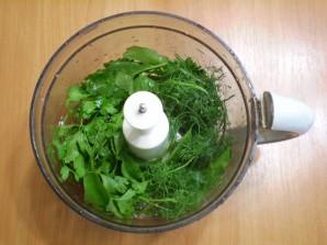 Зеленый коктейль с укропом - фото шаг 3