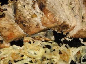 Рецепт свинины в фольге - фото шаг 7