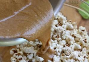 Попкорн с арахисовым маслом - фото шаг 5