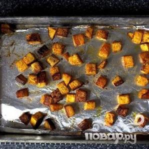 Салат из сквоша, чечевицы и сыра - фото шаг 2