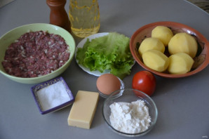Картофельный бургер - фото шаг 1