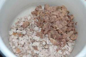 """Классический французский салат """"Оливье"""" - фото шаг 14"""