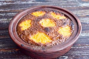 Манник с консервированными ананасами